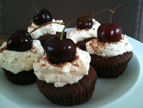 Black forest cupcakes | MummyPages.MummyPages.ie
