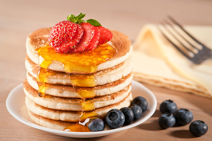 Perfect american pancakes guardian