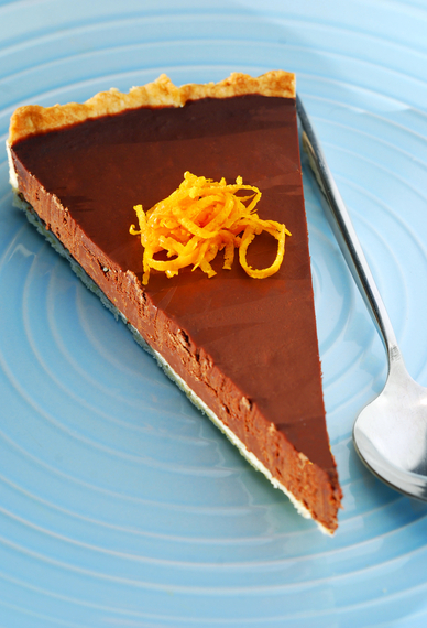 Chocolate orange tart | MummyPages.MummyPages.ie
