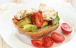 Chicken and avocado ciabattas