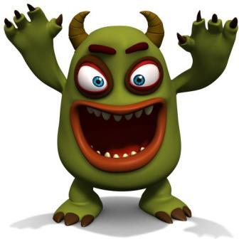 Monster monster ghost