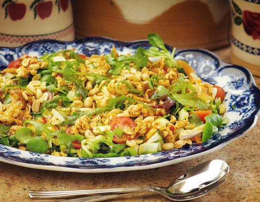 Cajun chicken salad with oriental dressing | MummyPages ...