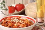 Hot and spicy tortellini