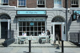 The Old Music Shop restaurant opens in Dublin