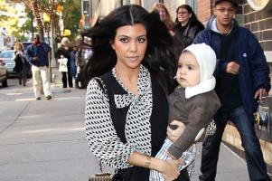 Kourtney Kardashian shares photos of stylish baby shower