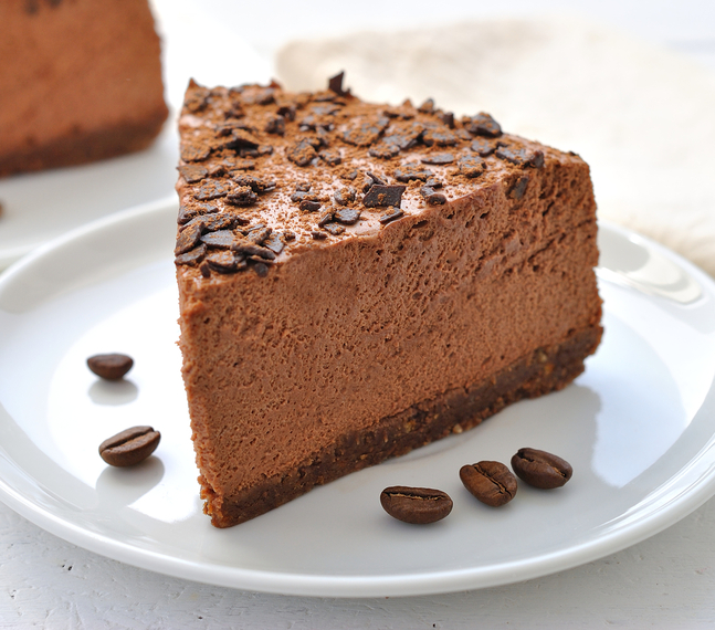 Chocolate coffee liqueur cheesecake | MummyPages.MummyPages.ie