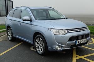 Family car review: Mitsubishi Outlander PHEV (Electric Hybrid Vehicle)