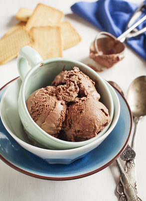 Chocolate clementine sorbet | MummyPages.MummyPages.ie