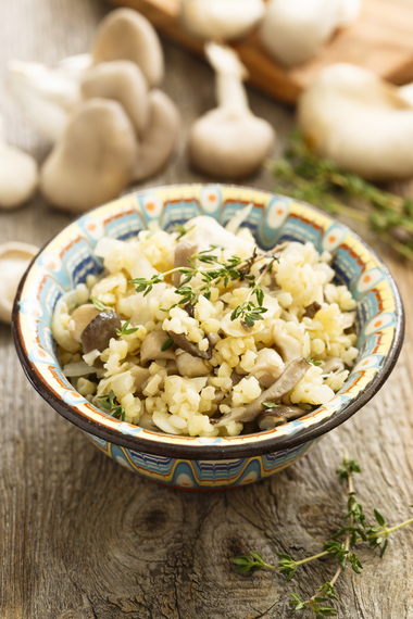 Slow cooker barley and mushroom risotto | MummyPages.MummyPages.ie