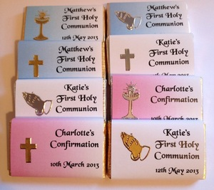 Sweet treats for Communions and Confirmations