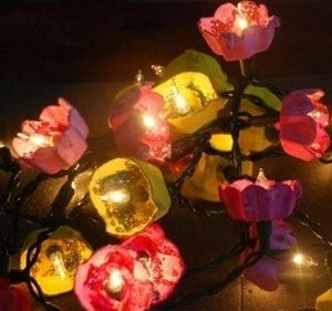 How To: Flower fairy lights