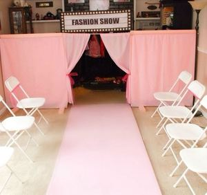 How to plan a birthday fashion show