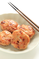 Asian chicken patties with ginger