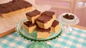 No bake chocolate peanut butter squares