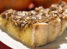 Pumpkin Pie with Crunchy Nut Topping