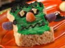 Green Halloween Monsters