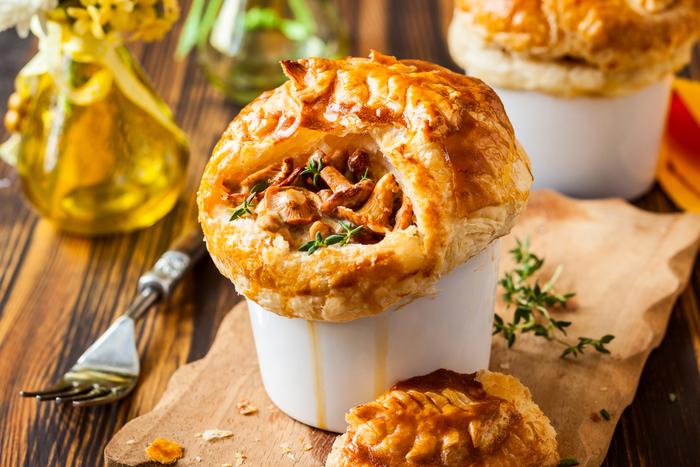 chicken pies the perfect comfort food main ingredients chicken ...