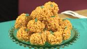 Pumpkin Patch Rice Krispies Treats