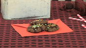 Christmas chocolate shortbread