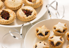 Mini Star topped Mince Pies