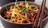 Stir-fried chilli beef