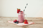 Forest fruit smoothie