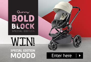 Win a special edition Quinny Moodd pushchair