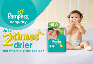 New Mums Say Trial: Pampers® Baby-Dry™