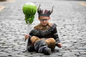 It's a splash! Dublin is taken over by the most ADORABLE Vikings ever