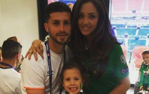 Shane Long's wife shares beautiful reunion moment between footballer and his doting daughters