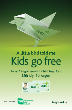 Under 19s go free with Leap Card