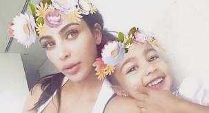 'Naughty' North gives Kim attitude – as baby Saint starts his reality TV career