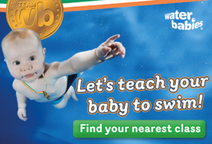 Dive into a Water Babies class here