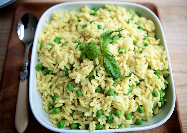 MummyCooks Orzo Pasta with Peas and Parmesan | MummyPages.MummyPages ...