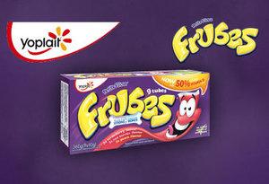Squeeze em, roll em twist em, its so fun to eat Frubes!