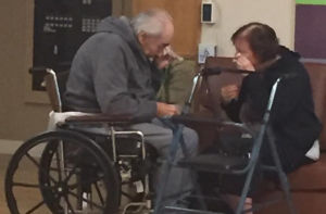 After 62 years of marriage, this couple fight to remember each other in the face of cancer