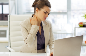 Desk job downsides: 5 ways to relieve back and shoulder pain