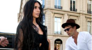 The CREEP that grabbed Gigi last week just tried the same thing with Kim Kardashian