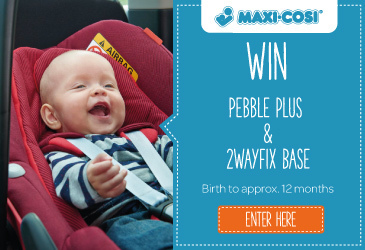 Win a Maxi-Cosi Pebble Plus with 2wayFix Base