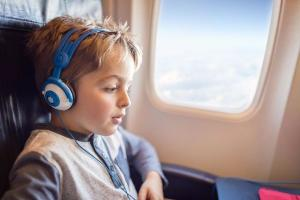 Budget airlines decision to introduce child free zones causes MAJOR debate