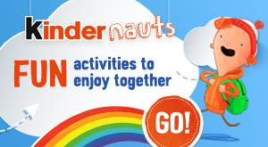 Discover Kindernauts.ie for fun activities for your kids.