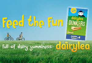 Feed the fun! Win a trip to Airfield and Dairylea goodies.