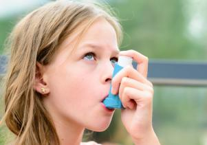 Childhood asthma linked to obesity - but there is something you can do