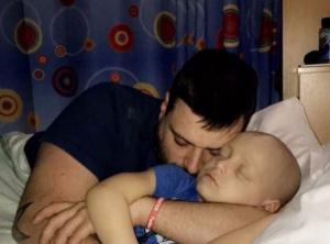 Bradley will lose his fight: Mums post about young sons cancer battle is heartbreaking