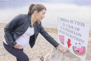 'That's adorable': This watermelon baby announcement is 'deliciously' sweet