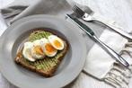 Boiled Egg and Avocado Toast
