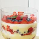 Easy Christmas trifle