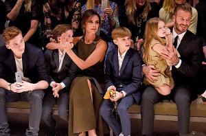 David Beckham shares adorable family photos from New York Fashion Week