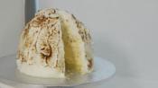 Cookie dough baked Alaska