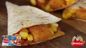 Fish Finger Quesadilla